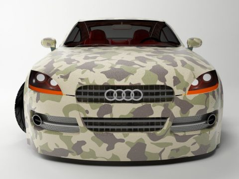 Auidi TT 3D model