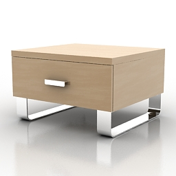 Bedside table Hulsta Tamis 3d model
