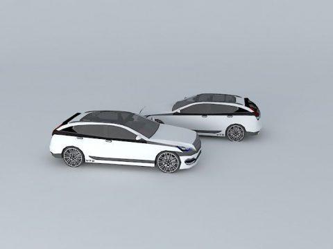 Car Panthere 3D model