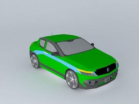 Car Sircco 3D model