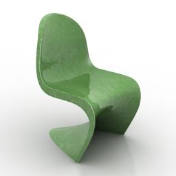 Chair panton 3d model