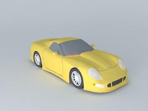 Chevrolet Corvette Callaway C12 3D model