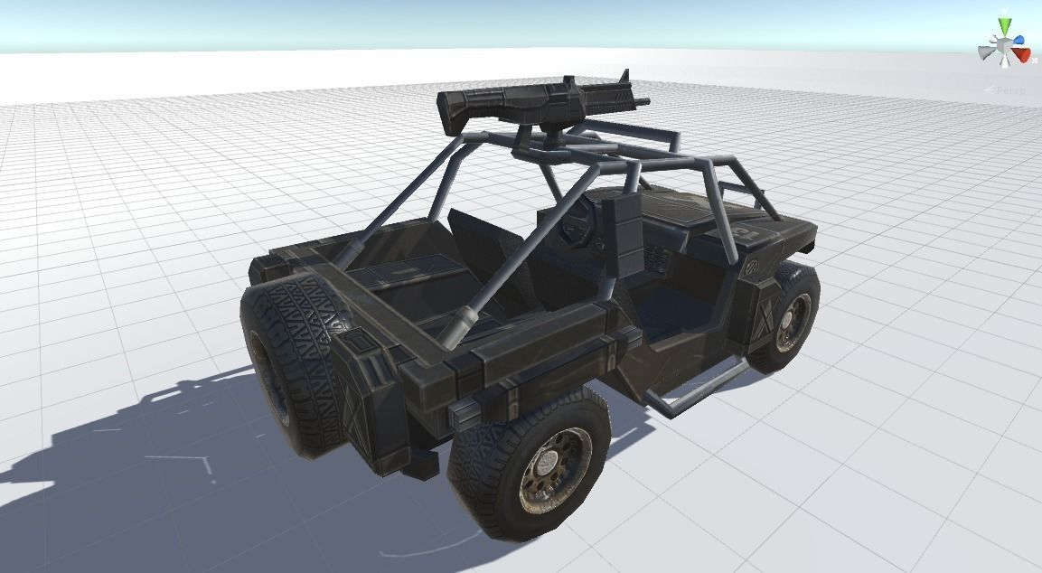Combat Vehicle 3D model
