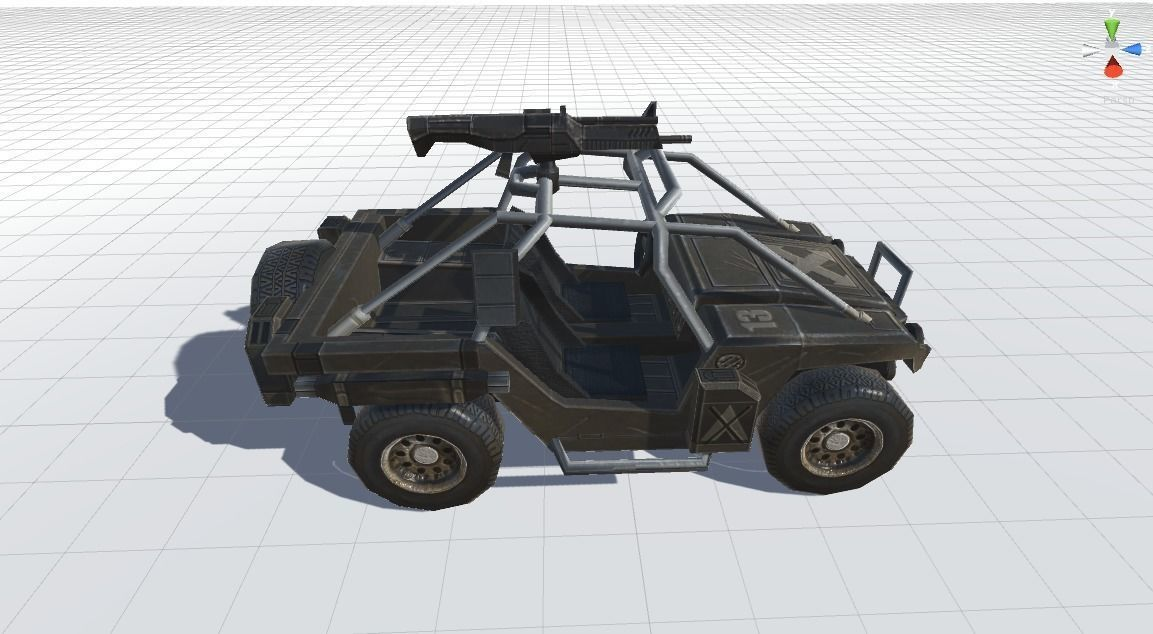 3D Combat Vehicle model