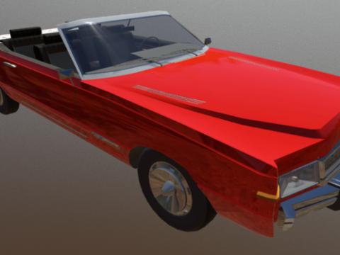 Convertible 3D model