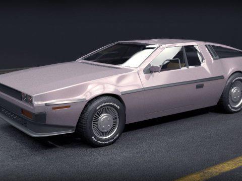 DeLorean DMC 3D model