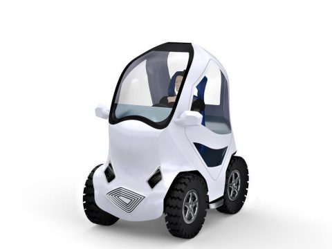 Electric City Car