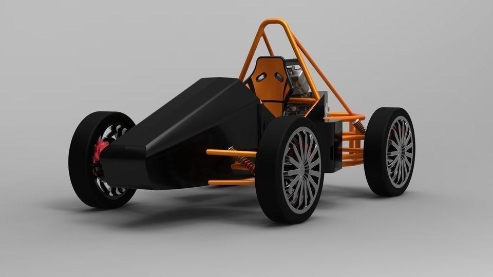 F1 car Project 3D model