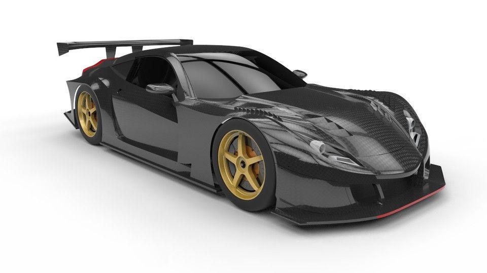 Honda HSV 010 GT 3D model