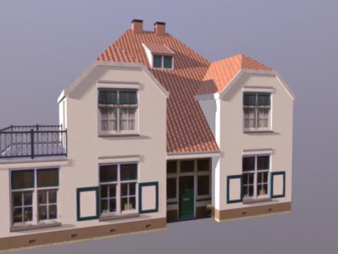 Kerkstraat 3D model