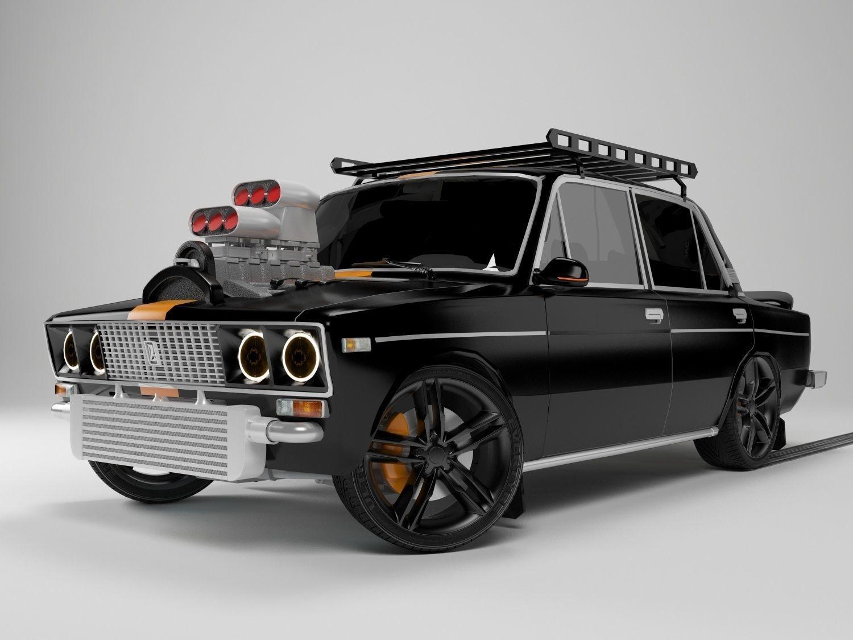 Lada Vaz 3D model