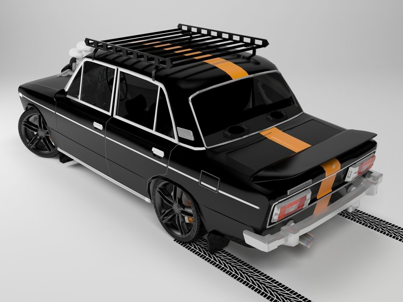 3D Lada Vaz model