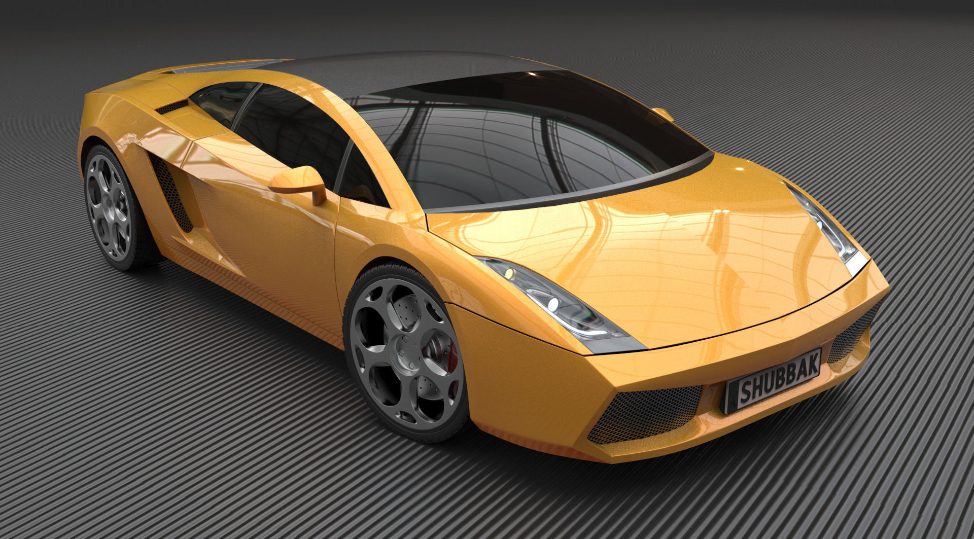 Lamborghini Gallardo 2005 3D model