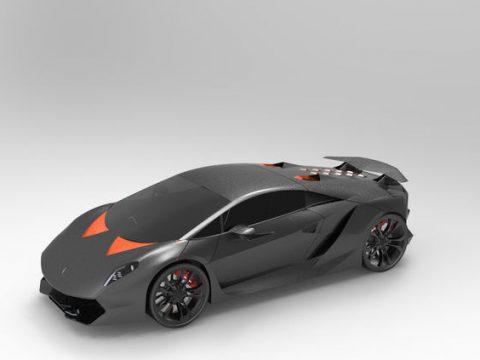 Lamborghini Sesto Elemento 3D model