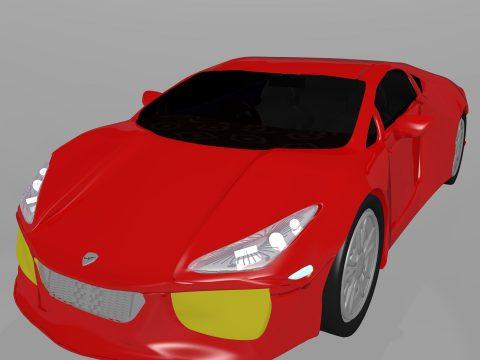 3D Lamborghini model