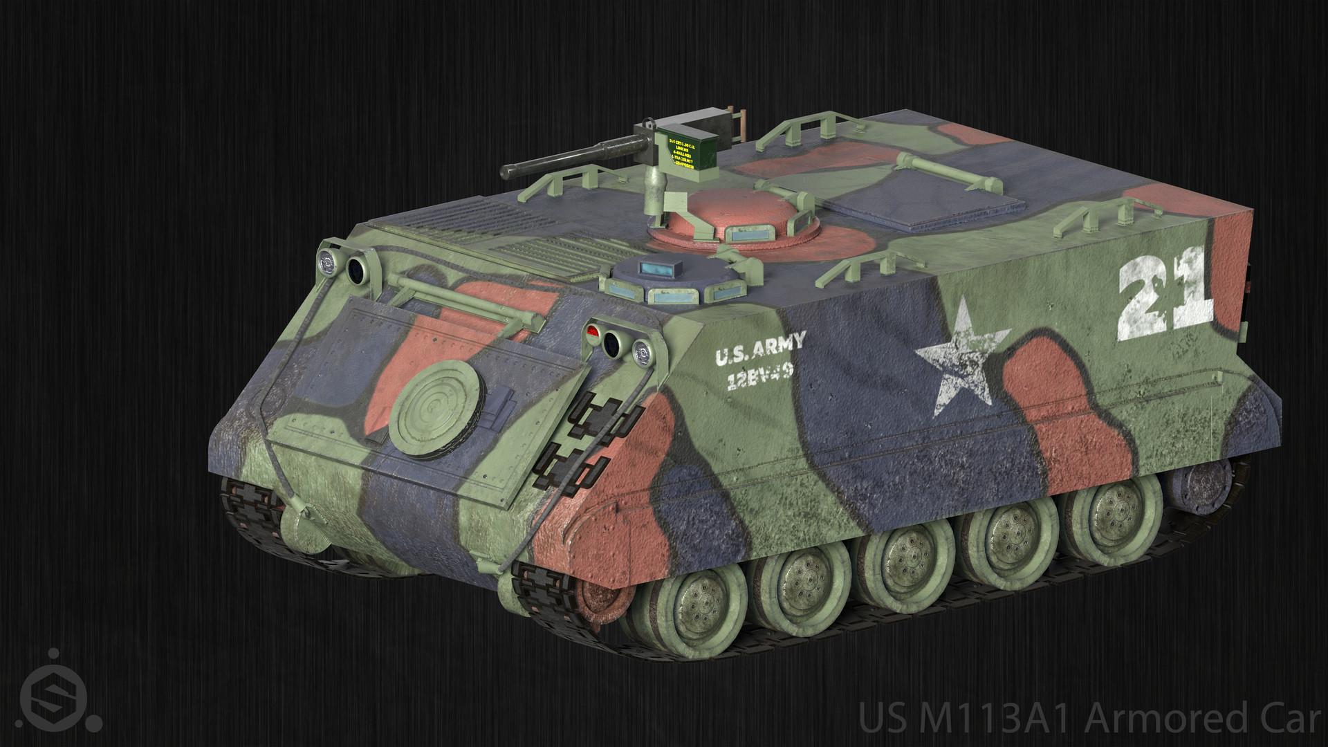 M113A1 3D model