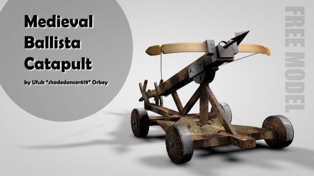 Medieval Ballista Catapult