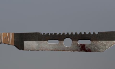 Melee Weapon 3D model