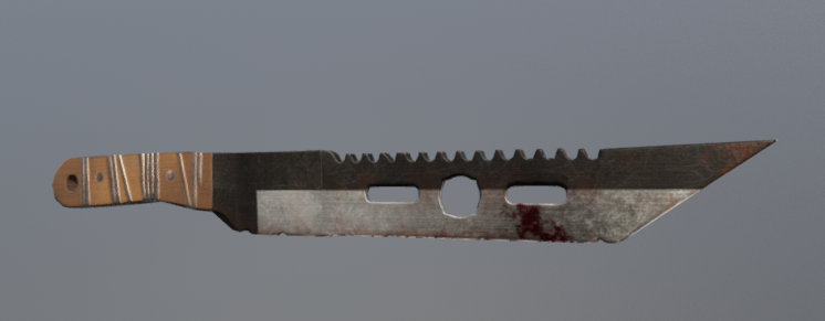 Melee Weapon 3D model