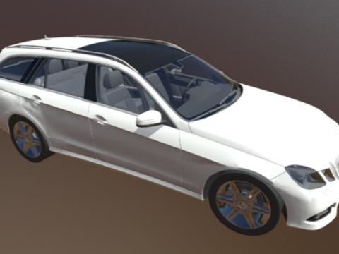 Mercedes E 3D model