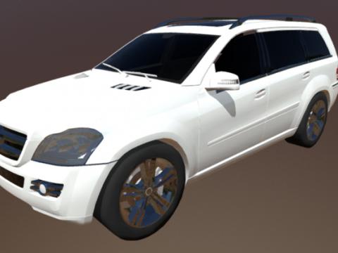 Mercedes GLK 3D model