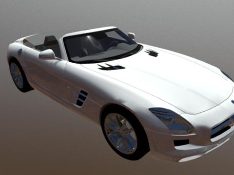 Mercedes SLS 3D model