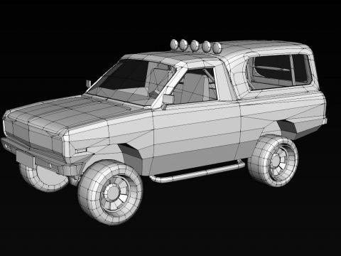 Nissan 1400 Bakkie 3D model
