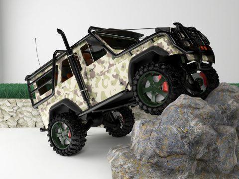 Off Road Jeep 3D model