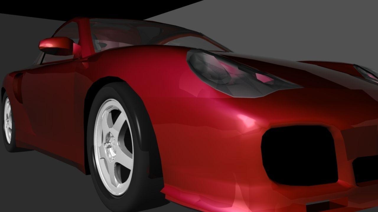 Porsche 3D model
