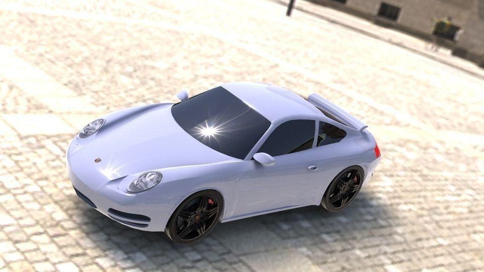 Porsche Carrera 911 Porsche Carrera Neunefler 3D model