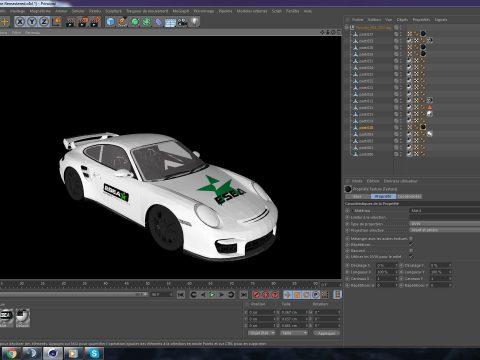 Porshe ESEA 3D model