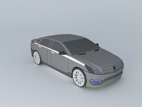 Presidential Car 3D model