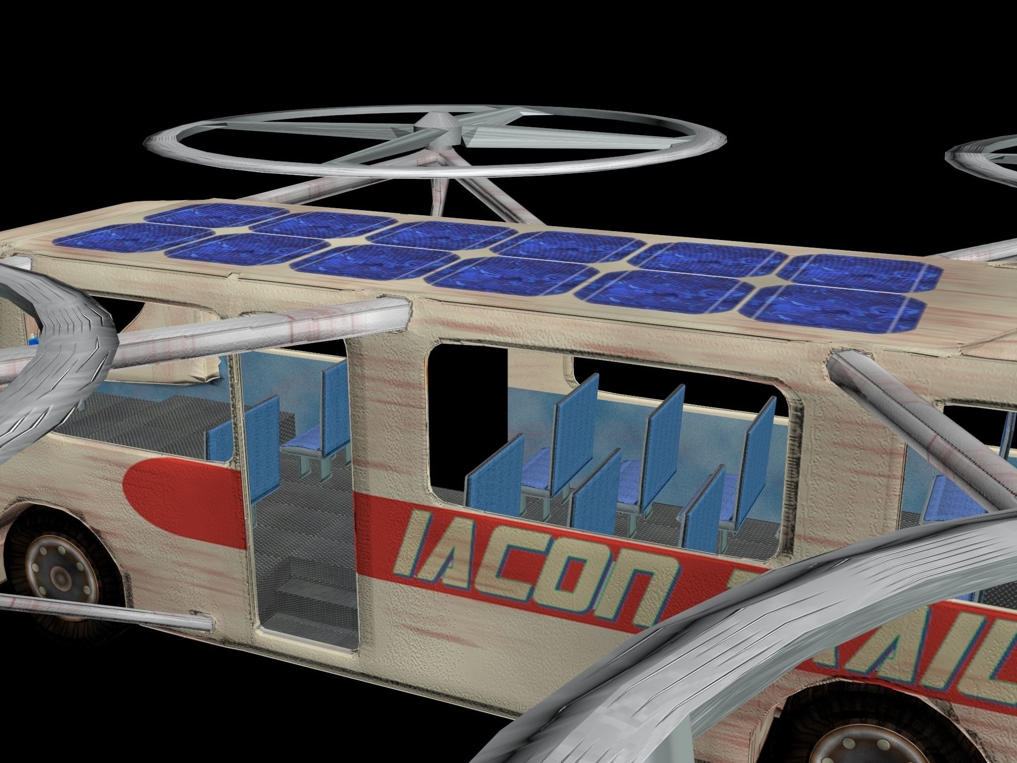 Quadcopter Bus