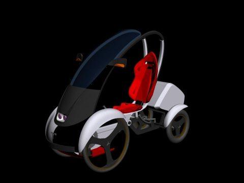 Quadrocycle 3D model