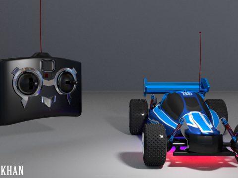 3D RC CAR model