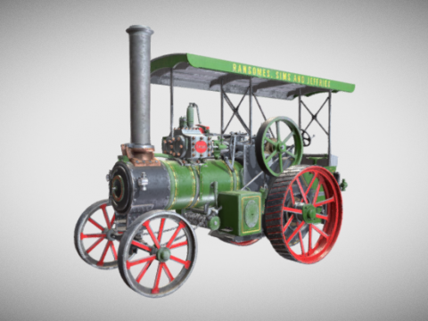 Ransomes Sims and Jefferies 3D model