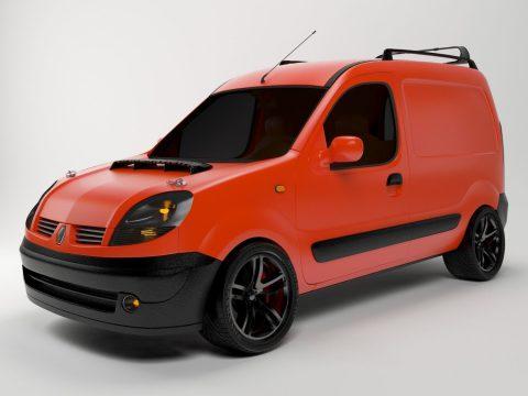 3D Renault Kangoo model