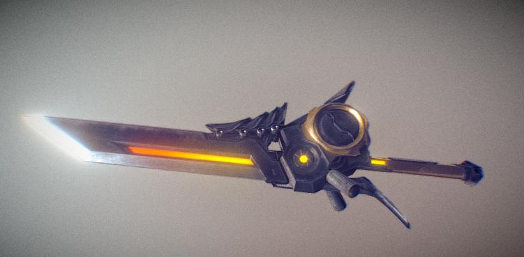 Rev Blade 3D model