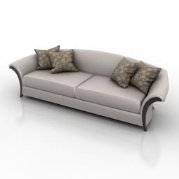 Sofa Christopher Guy Intemporel 3d model