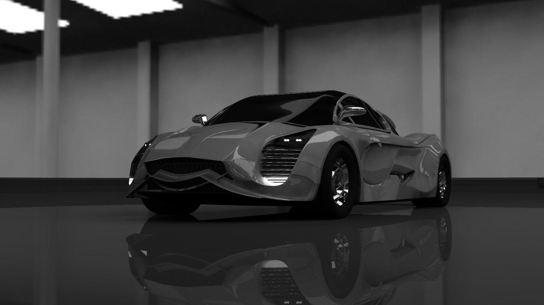 Speedy Fiberwheels 3D model