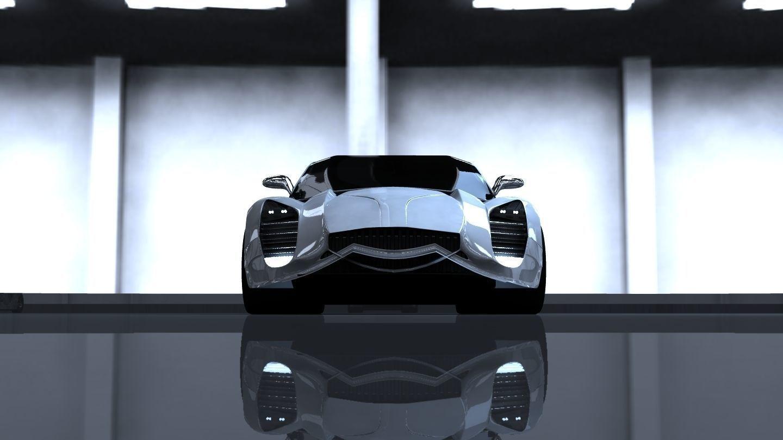 3D Speedy Fiberwheels model