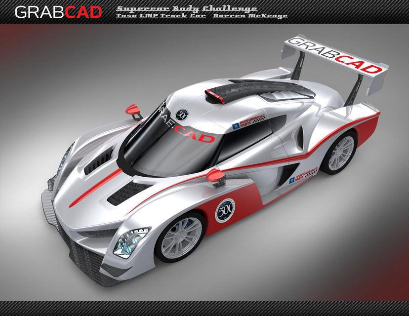 Tosa LMP car 3D model