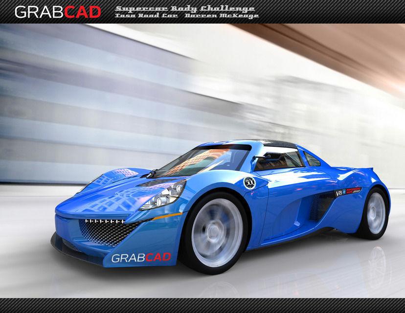 Tosa Street car 3D model