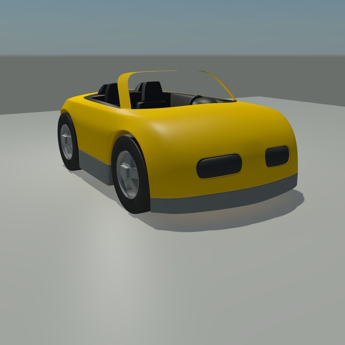 Toy Car 3D moddel