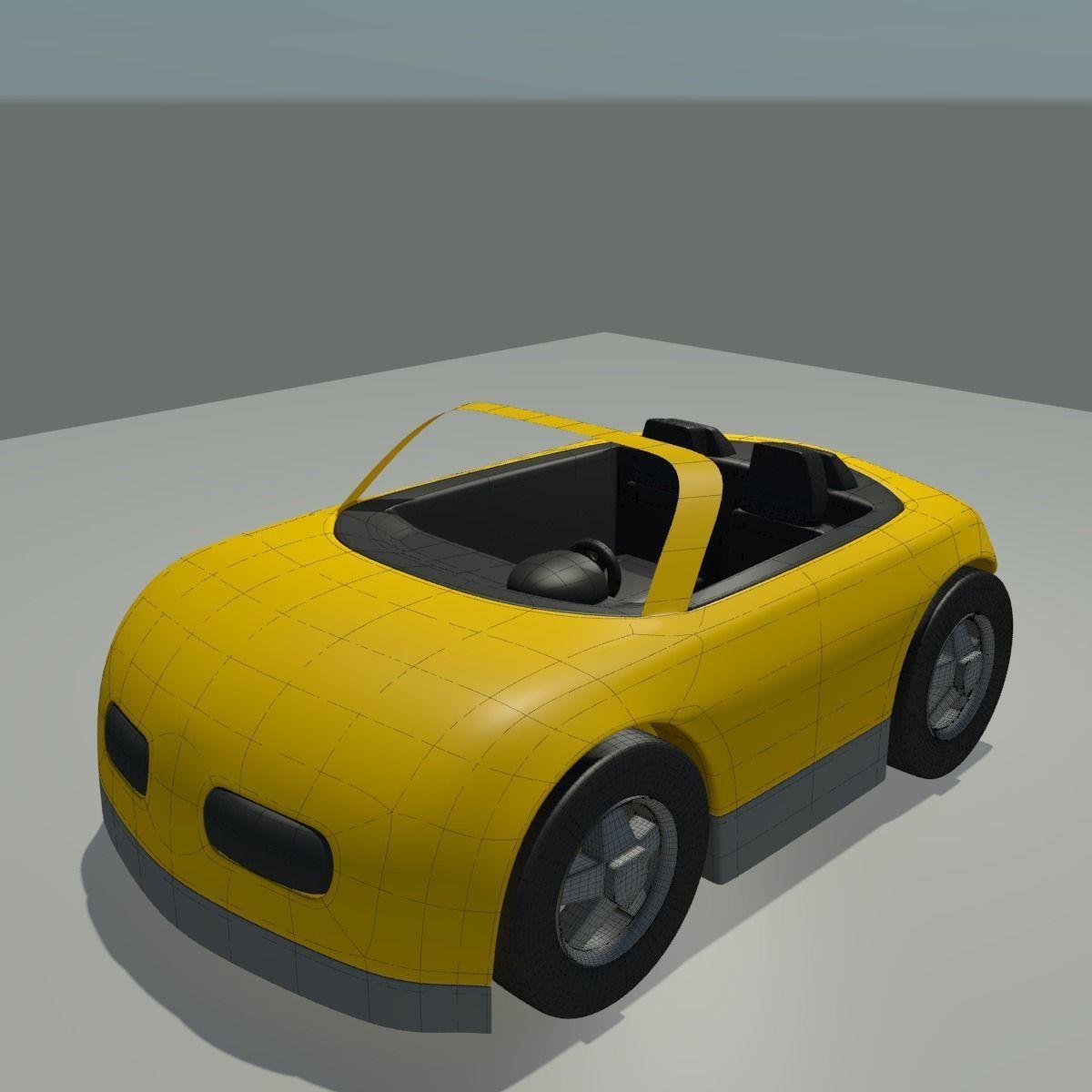 3D Toy Car model