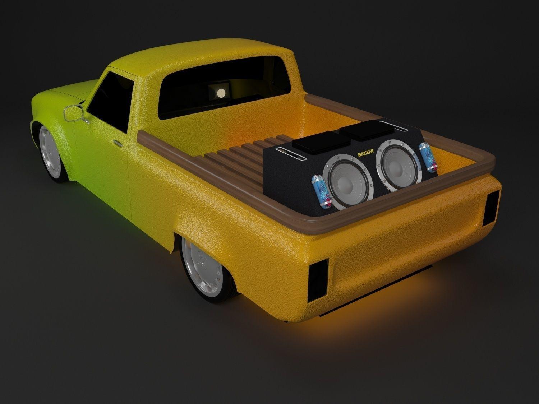 3D Toyota Hilux model