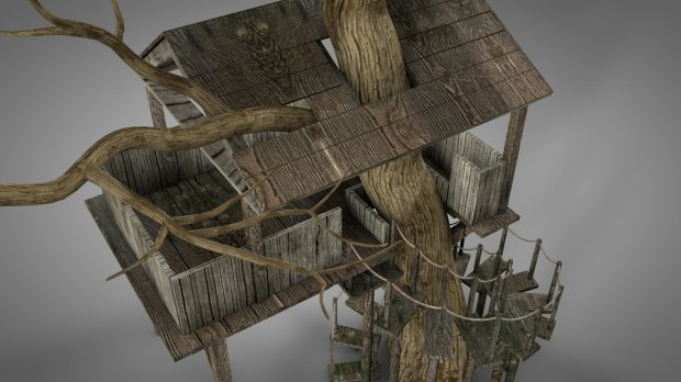 Tree House | Free 3D models