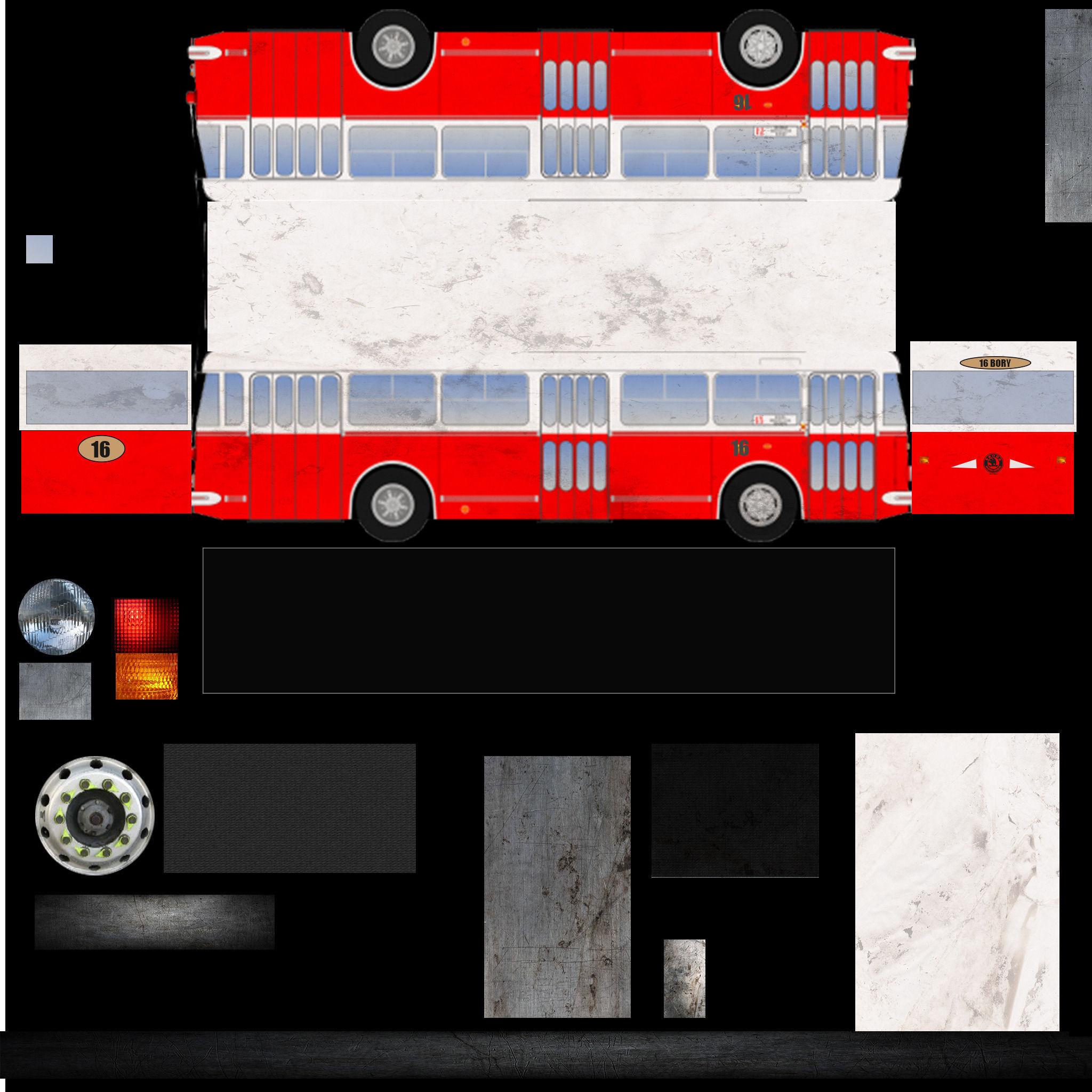 3D Trolley 9TR  model