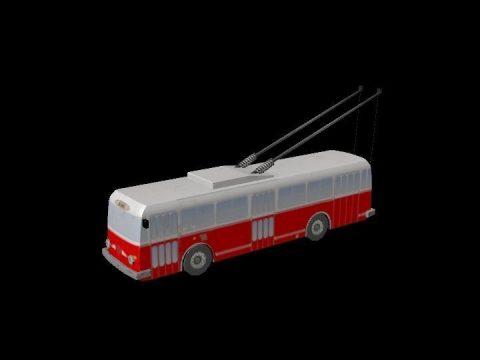 Trolley 9TR 3D model