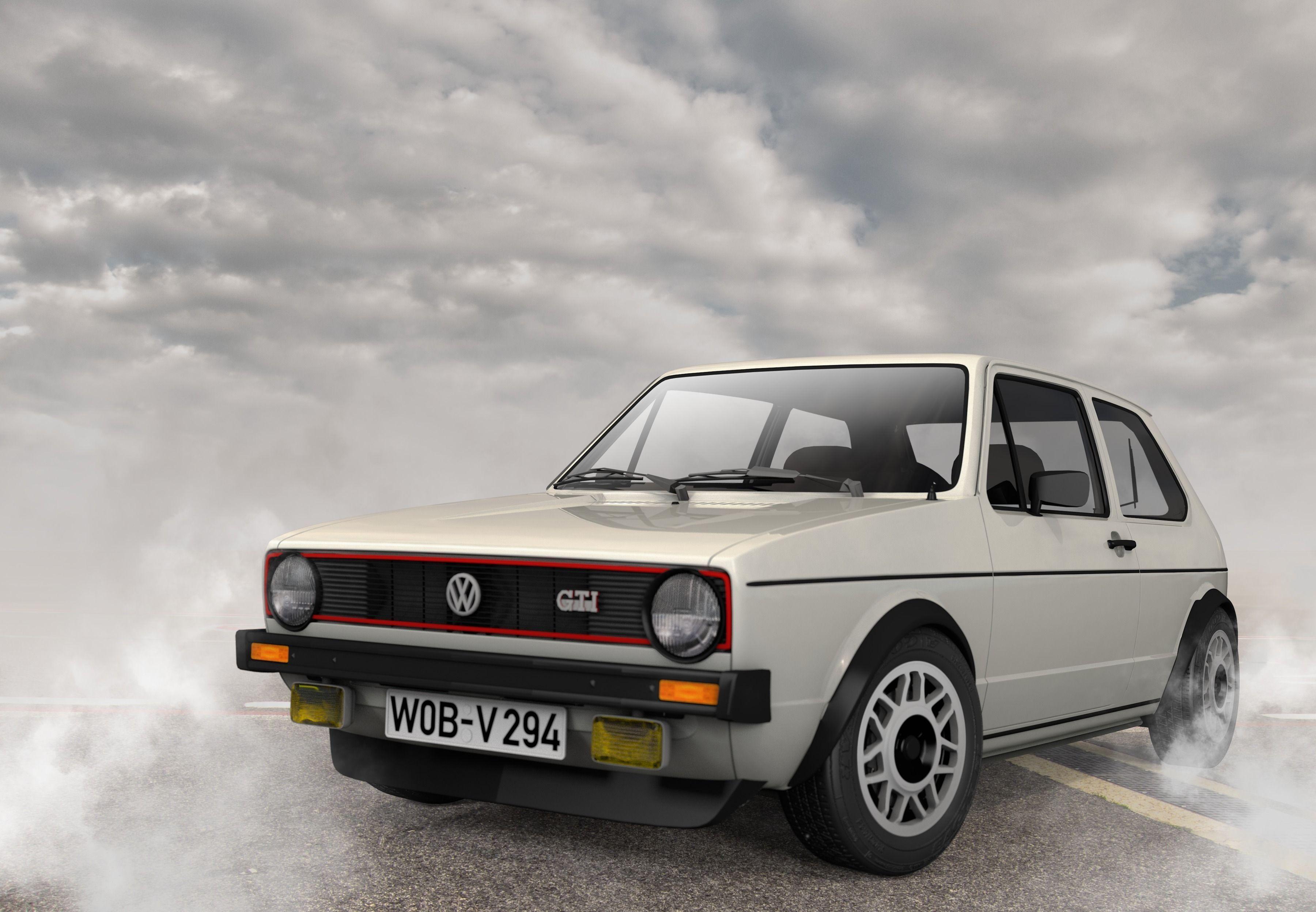 Volkswagen Golf MK1 3D model